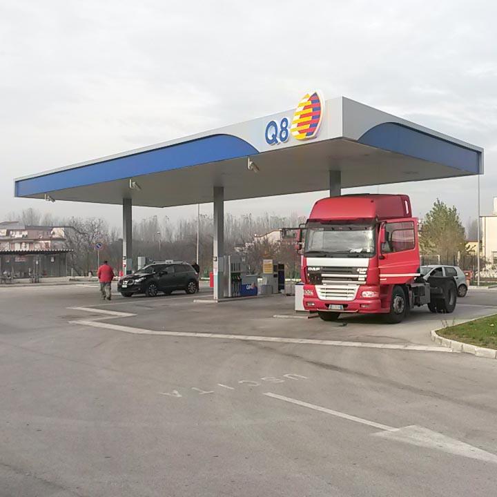 Rebranding punti vendita carburante | Progettazione, dir. lavori, sicurezza