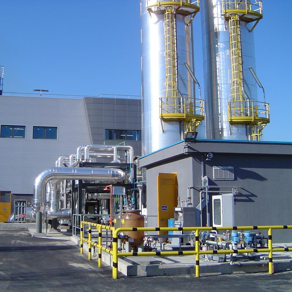 Impianto industriale | Progettazione, dir. lavori, sicurezza