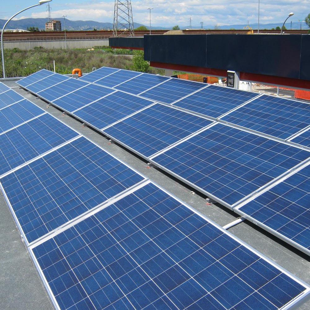 Impianto fotovoltaico su copertura