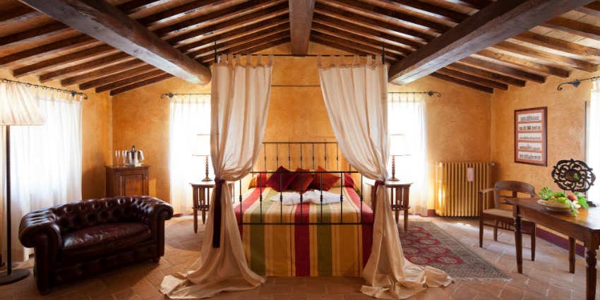 Suite con tetto in legno