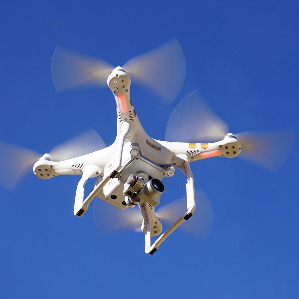 Riprese video e foto con droni
